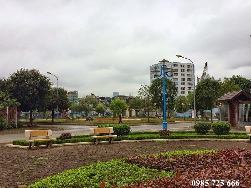 Vườn hòa khu đô thị mới Nghĩa Đô
