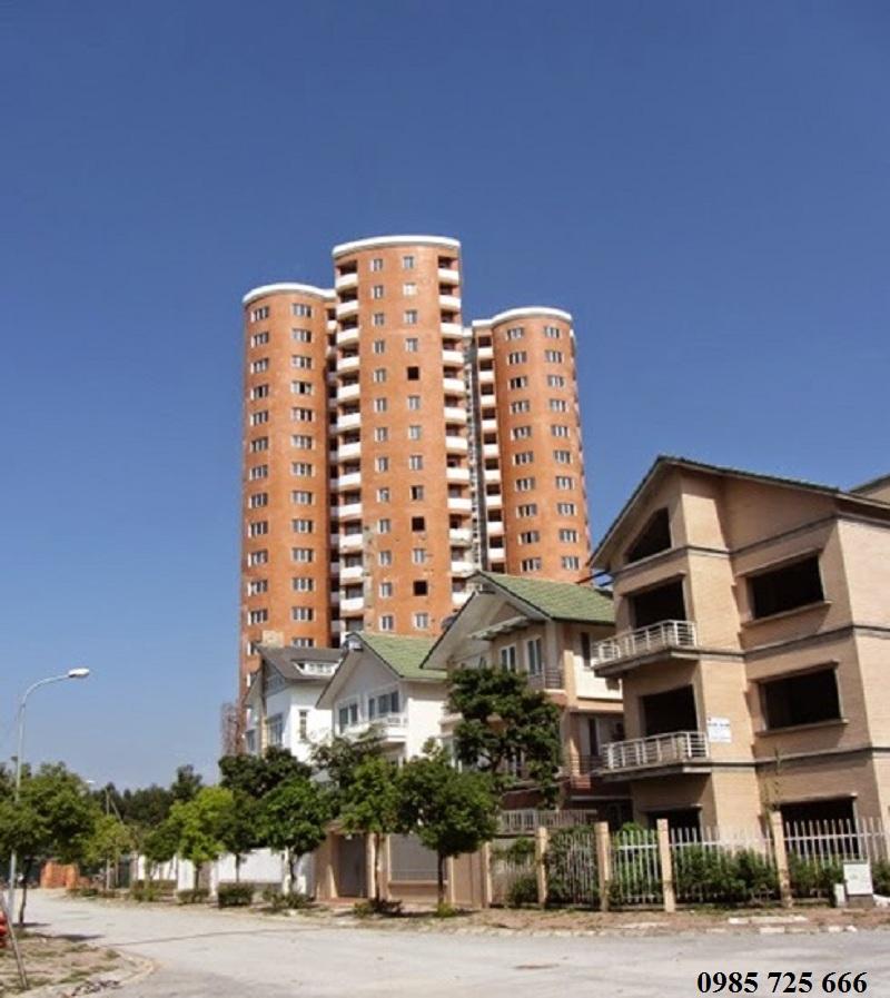 Cảnh quan khu đô thị mới Nghĩa Đô