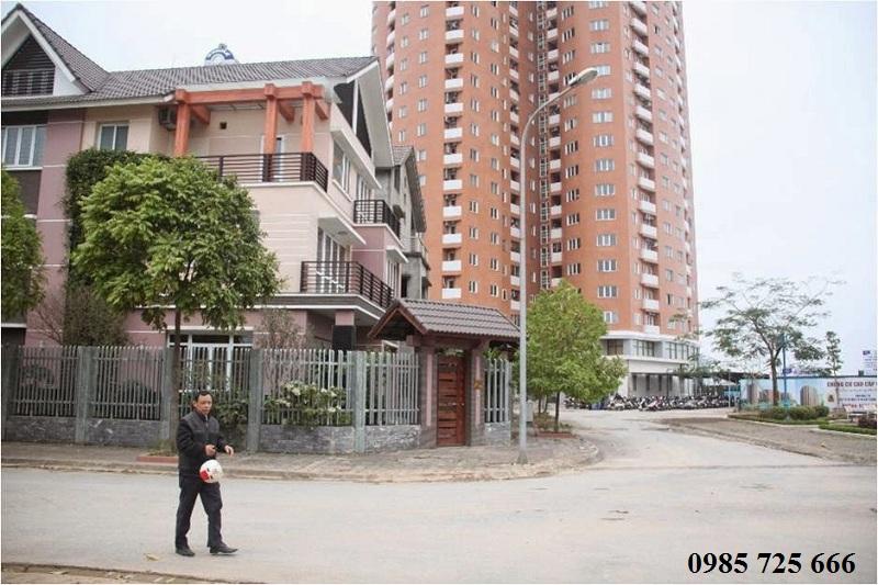 Đường nội bộ khu đô thị mới Nghĩa Đô