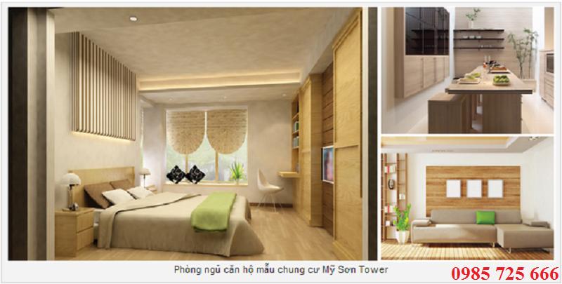 Phòng khách Mỹ Sơn Tower 62 Nguyễn Huy Tưởng - Thanh Xuân