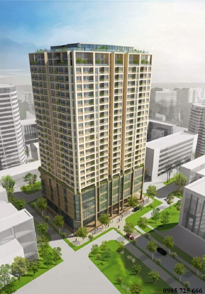 Phối cảnh chung cư Mỹ Sơn Tower - 62 Nguyễn Huy Tưởng