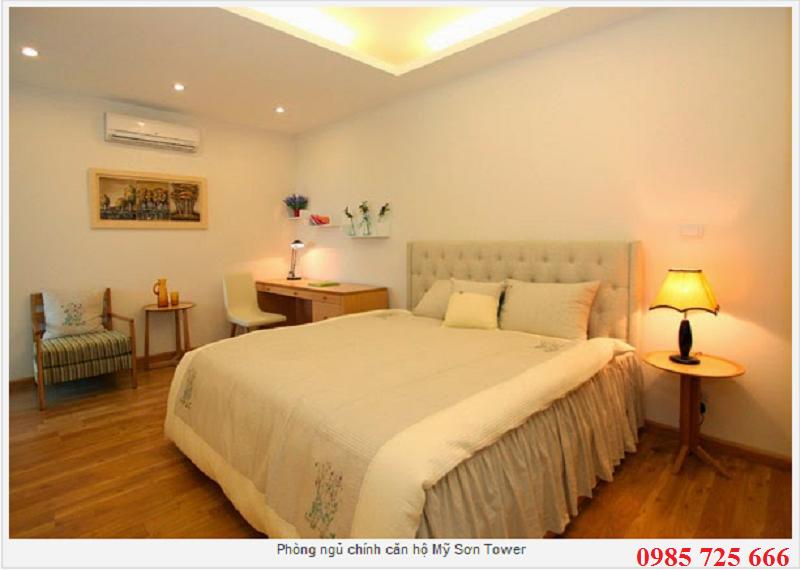Phòng ngủ master Mỹ Sơn Tower 62 Nguyễn Huy Tưởng - Thanh Xuân