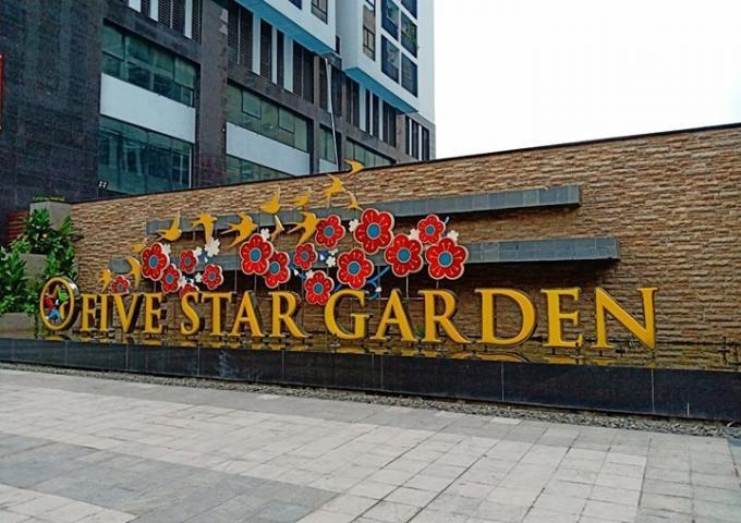 Hình ảnh thực tế dự án chung cư Five Star Garden 02 Kim Giang