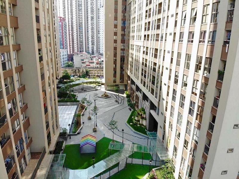 Hình ảnh thực tế chung cư Home City 177 Trung Kính 5