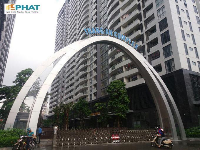 Hình ảnh thực tế dự án Tràng An Complex Hoàng Quốc Việt 3