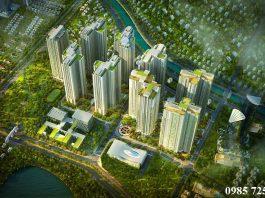 Phối cảnh Goldmark City 136 Hồ Tùng Mậu