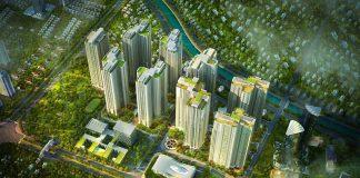 Phối cảnh Goldmark City 136 Hồ Tùng Mậu - Từ Liêm