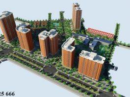 Phối cảnh khu đô thị mới Nghĩa Đô 106 Hoàng Quốc Việt