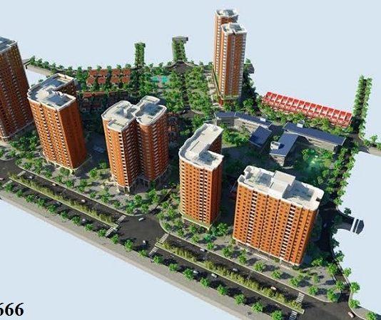 Phối cảnh khu đô thị mới Nghĩa Đô
