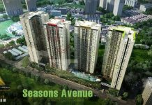 Phối cảnh dự án Seasons Avenue Mỗ Lao - Hà Đông