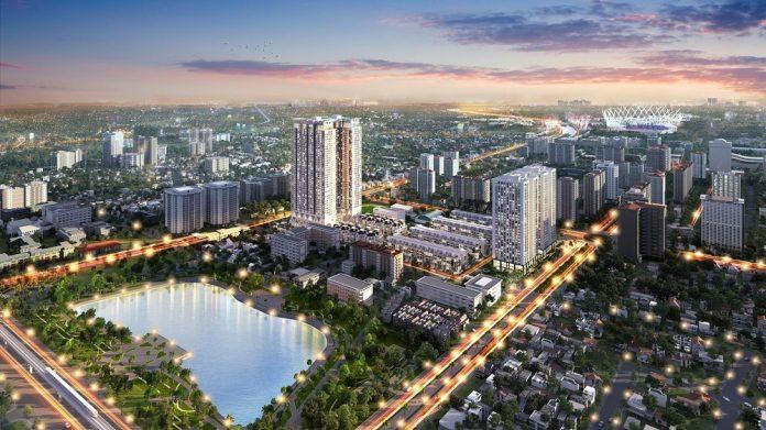 Phối cảnh dự án The Zei Mỹ Đình - HD Mon City Giai đoạn 2