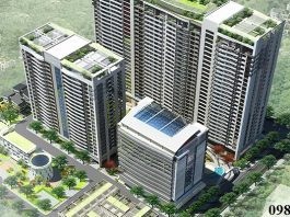 Phối cảnh dự án Tràng An Complex - 01 Phùng Chí Kiên - Hoàng Quốc Việt