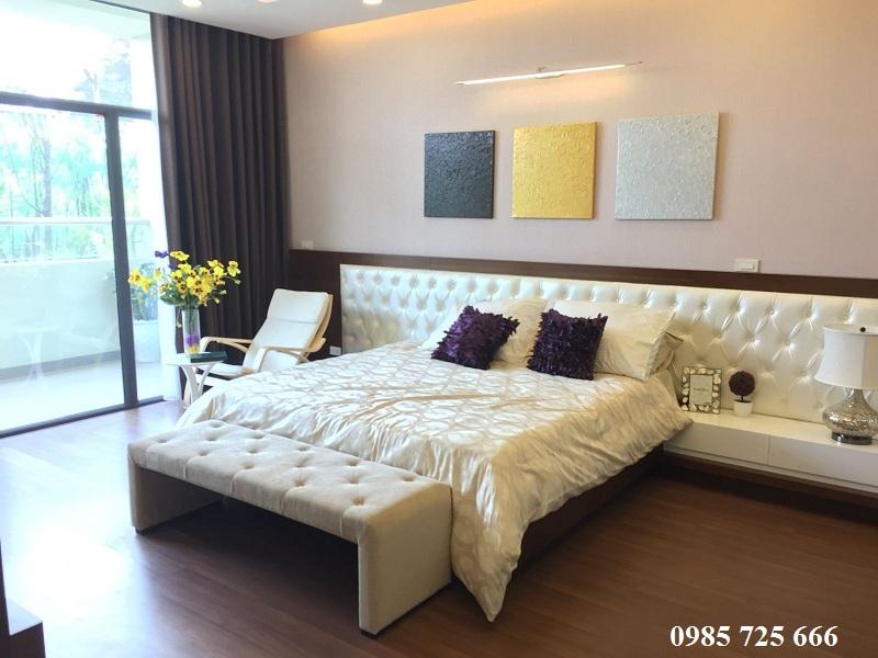 Phòng ngủ master dự án Tràng An Complex - 01 Phùng Chí Kiên - Hoàng Quốc Việt