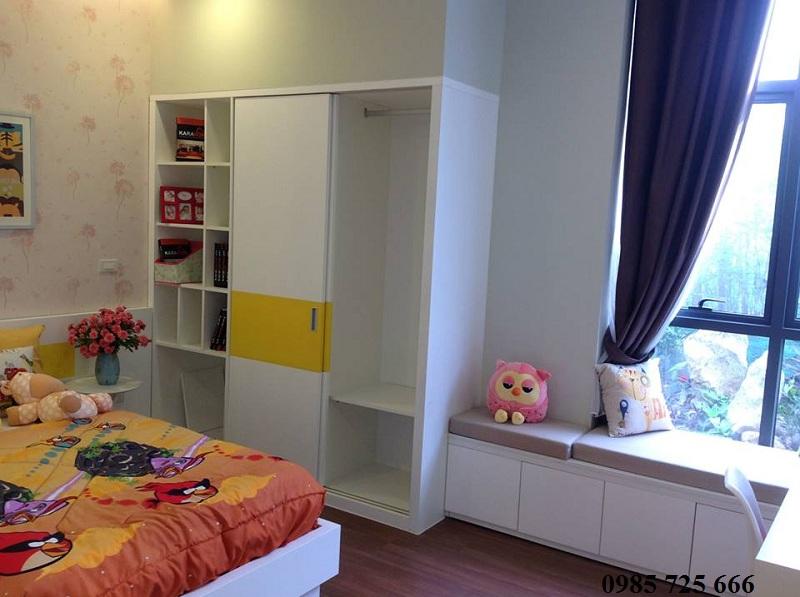 Phòng ngủ nhỏ dự án Tràng An Complex - 01 Phùng Chí Kiên - Hoàng Quốc Việt