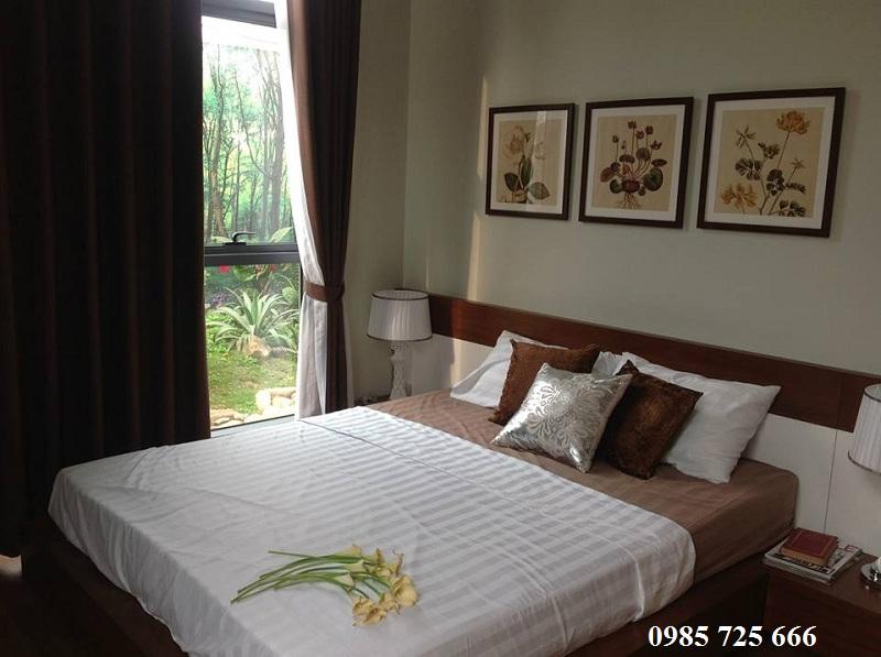 Phòng ngủ dự án Tràng An Complex - 01 Phùng Chí Kiên - Hoàng Quốc Việt
