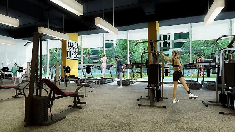 Phòng Gym dự án Eco Green City Nguyễn Xiển