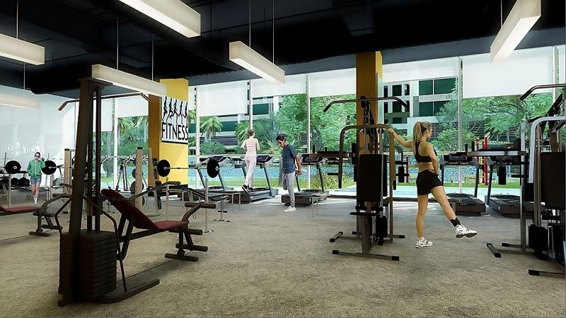 Phòng tập Gym dự án Imperia Garden - 203 Nguyễn Huy Tưởng