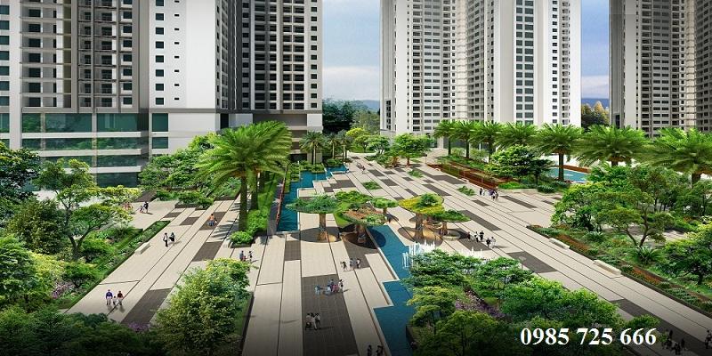 Quảng trường Ruby 1 Goldmark City- 136 Hồ Tùng Mậu - Từ Liêm