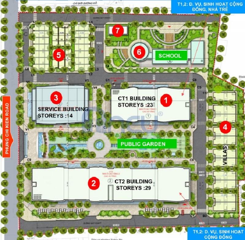 Quy mô dự án Tràng An Complex - 01 Phùng Chí Kiên - Hoàng Quốc Việt