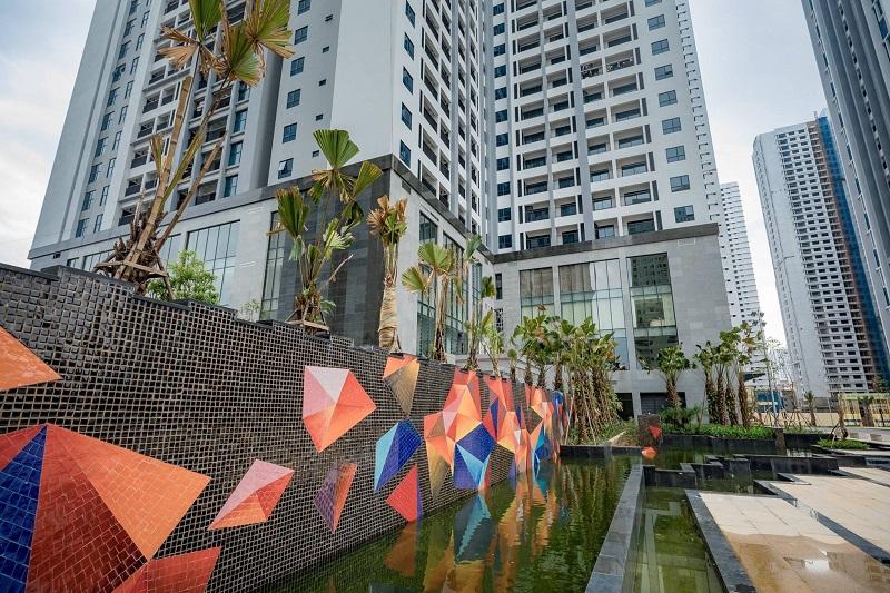 Thác tràn Goldmark City 136 Hồ Tùng Mậu - Từ Liêm