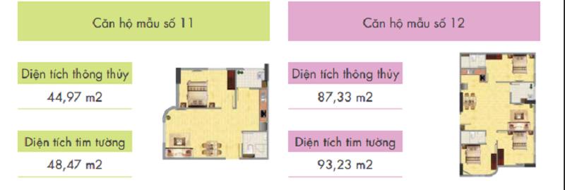 Thiết kế căn hộ tòa CT1B - Khu đô thị mới Nghĩa Đô - 106 Hoàng Quốc Việt - Cầu Giấy