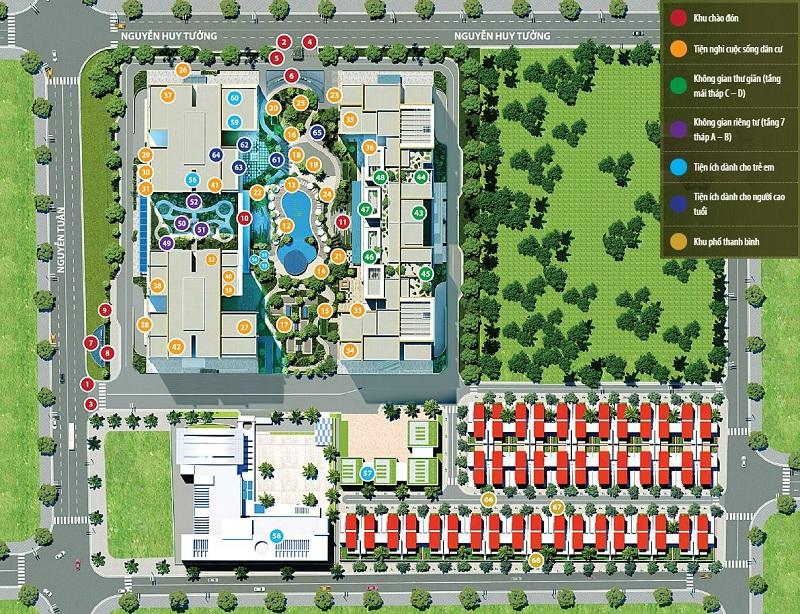 Tiện ích dự án Imperia Garden - 203 Nguyễn Huy Tưởng - Thanh Xuân