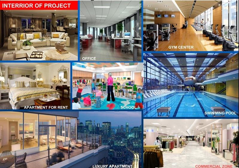 Tiện ích dự án Tràng An Complex - 01 Phùng Chí Kiên