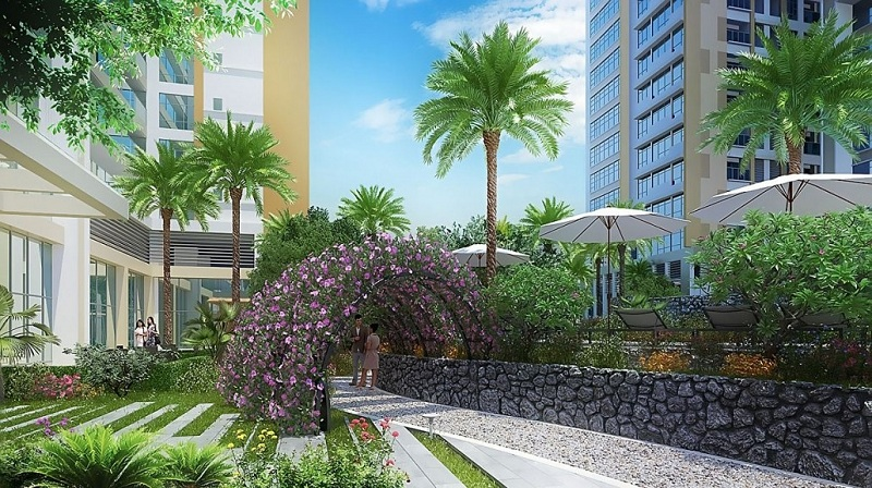 Vườn thanh bình dự án Imperia Garden - 203 Nguyễn Huy Tưởng