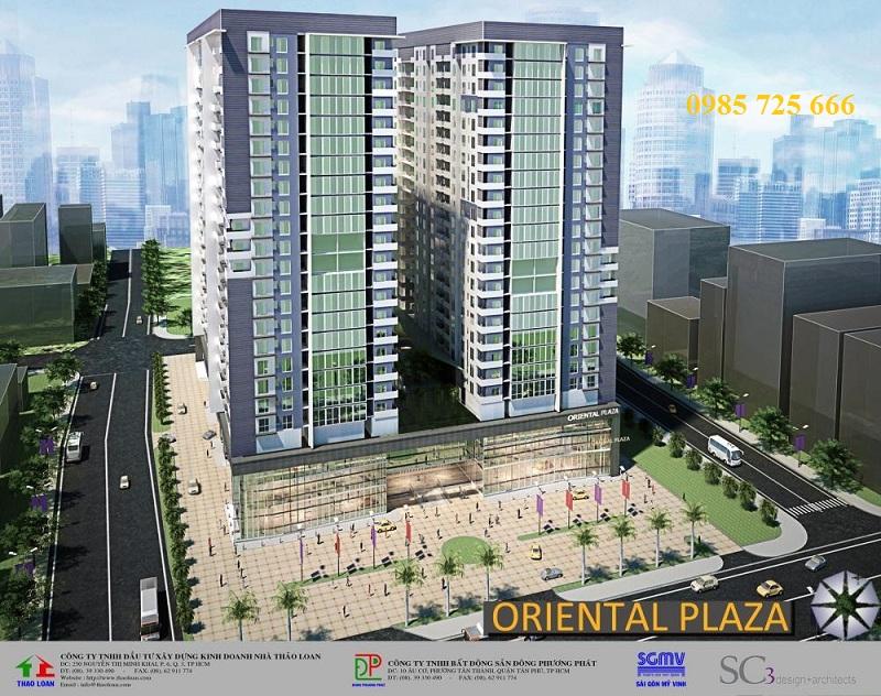 Chung cư Oriental Plaza - 16 Láng Hạ - Ba Đình