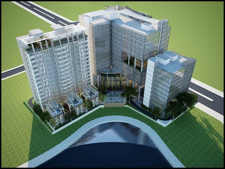 Quy hoạch mới dự án chung cư 16 Láng Hạ - BRG Grand Plaza