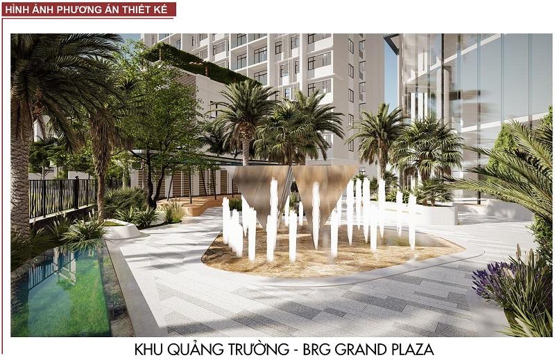 Không gian nội khu BRG Grand Plaza 16 Láng Hạ 2
