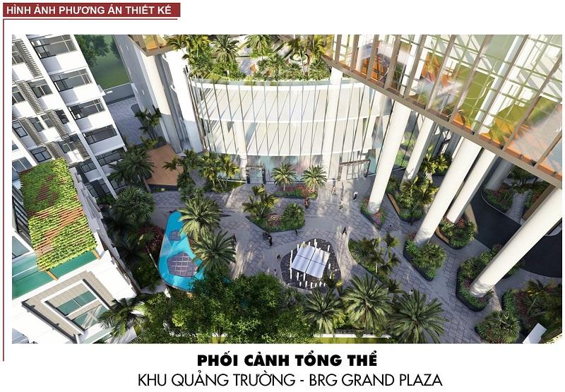 Không gian nội khu BRG Grand Plaza 16 Láng Hạ