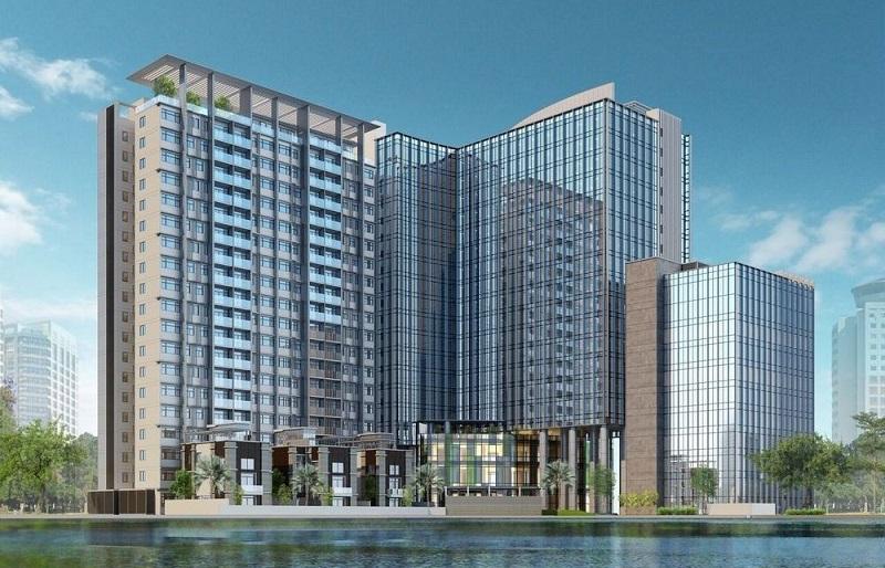 Phối cảnh quy hoạch mới chung cư 16 Láng Hạ - BRG Grand Plaza