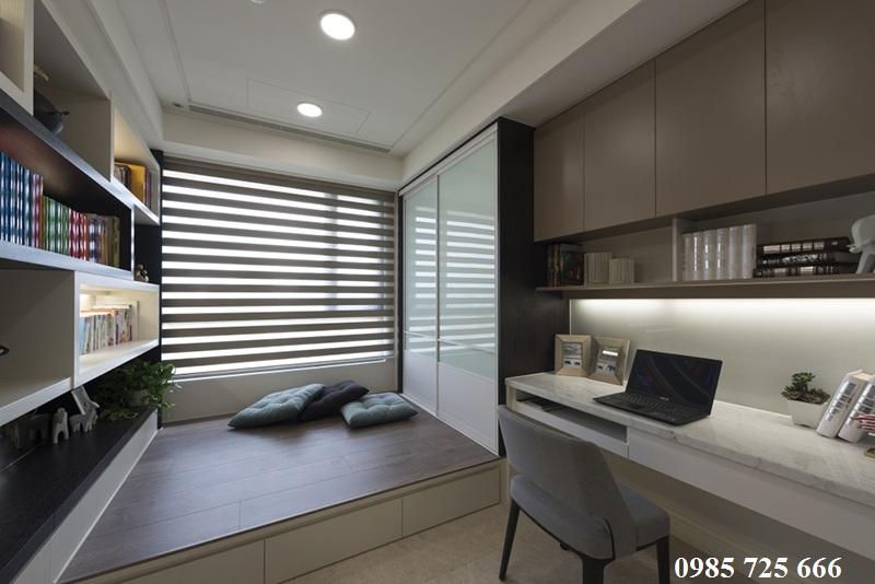 Thiết kế nội thất phòng làm việc chung cư Oriental Plaza - 16 Láng Hạ - Ba Đình