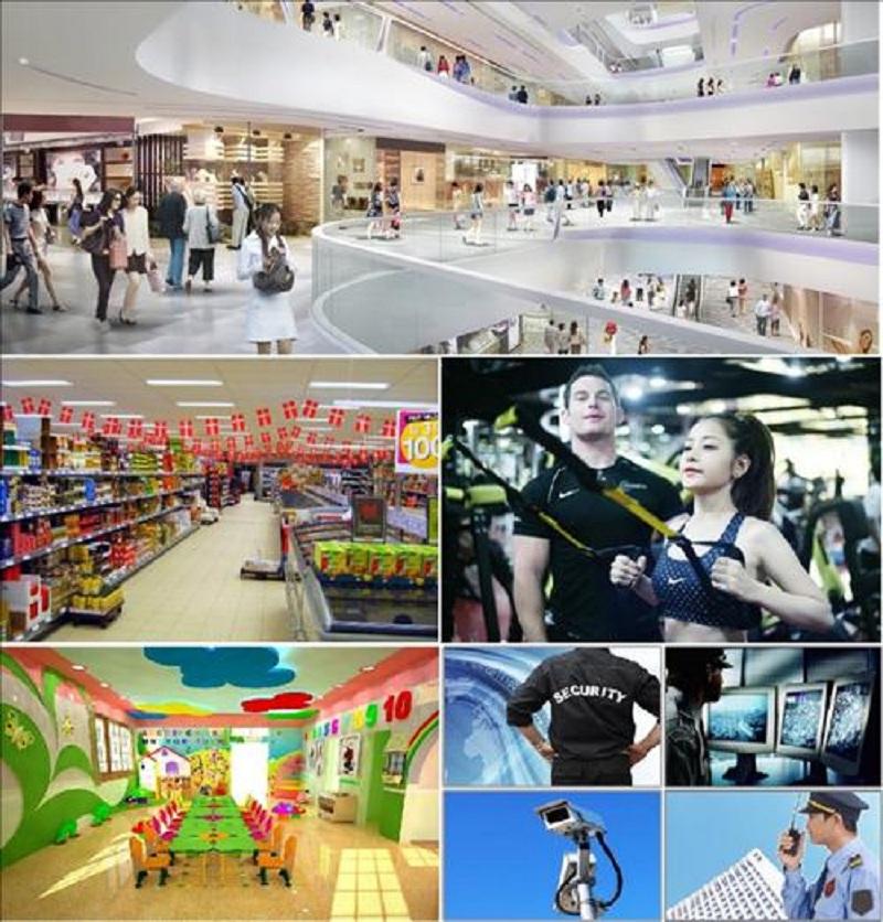 Tiện ích dự án chung cư Oriental Plaza - 16 Láng Hạ - Ba Đình