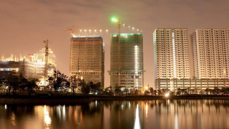 Tiến độ thi công chung cư Phú Mỹ Complex
