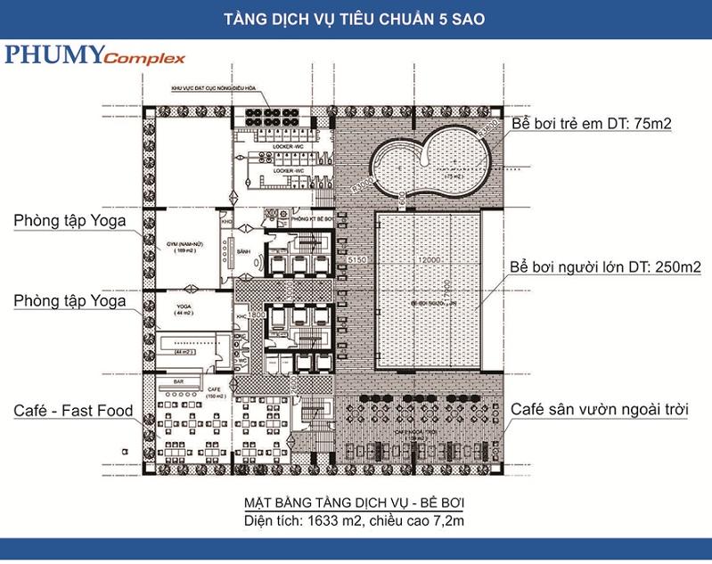 Tiện ích Phú Mỹ Complex - N01-T4 Ngoại Giao Đoàn