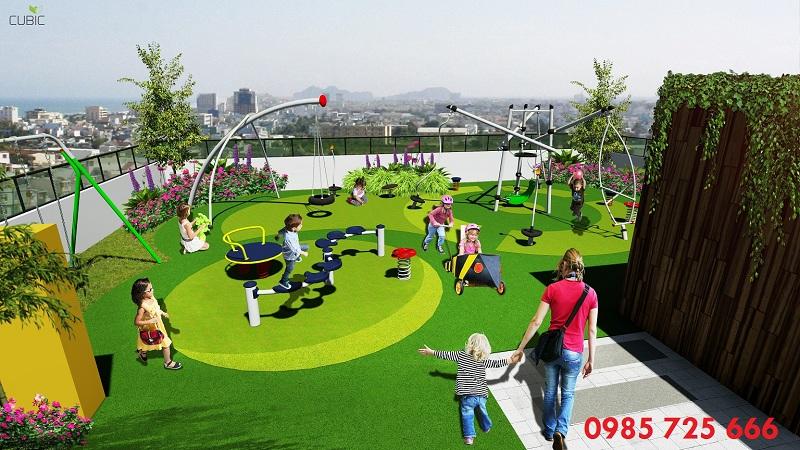 Khu vui chơi trẻ em dự án Riverside Garden 349 Vũ Tông Phan