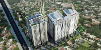 Phối cảnh dự án Star Tower 283 Khương Trung