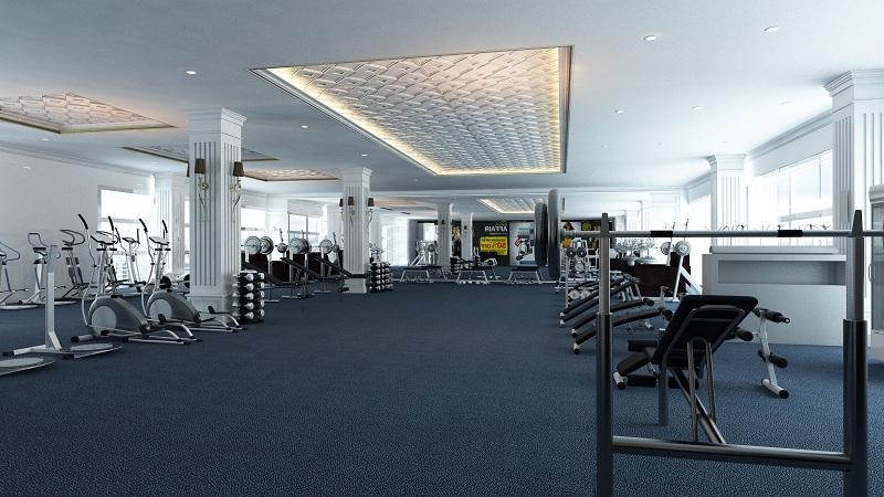 Phòng tập Gym dự án Riverside Garden 349 Vũ Tông Phan