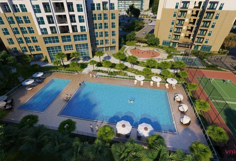 Bể bơi TheLink 345 Ciputra - Nam Thăng Long