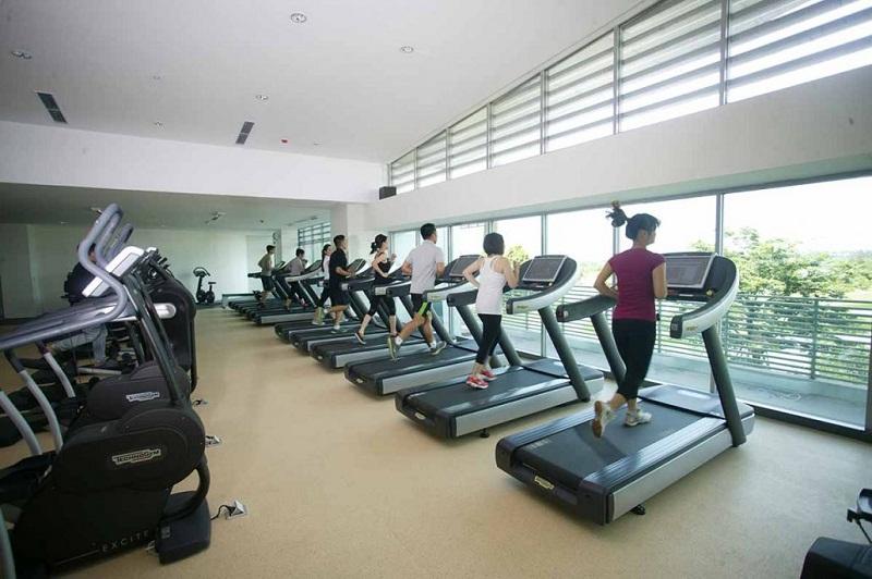 Phòng Gym TheLink 345 Khu đô thị Ciputra - Nam Thăng Long