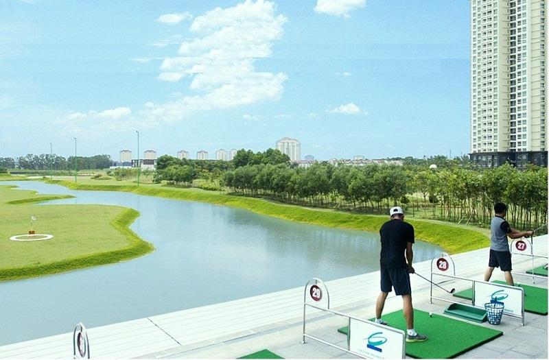 Sân tập Golf TheLink 345 Khu đô thị Ciputra - Nam Thăng Long