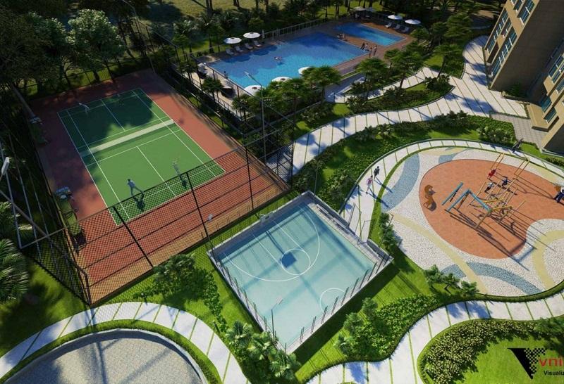 Khu thể thao TheLink 345 Khu đô thị Ciputra - Nam Thăng Long