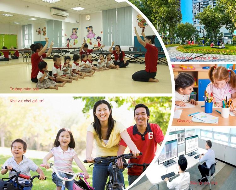 Tiện ích TheLink 345 Khu đô thị Ciputra - Nam Thăng Long