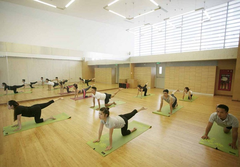 Phòng tập Yoga TheLink 345 Khu đô thị Ciputra - Nam Thăng Long