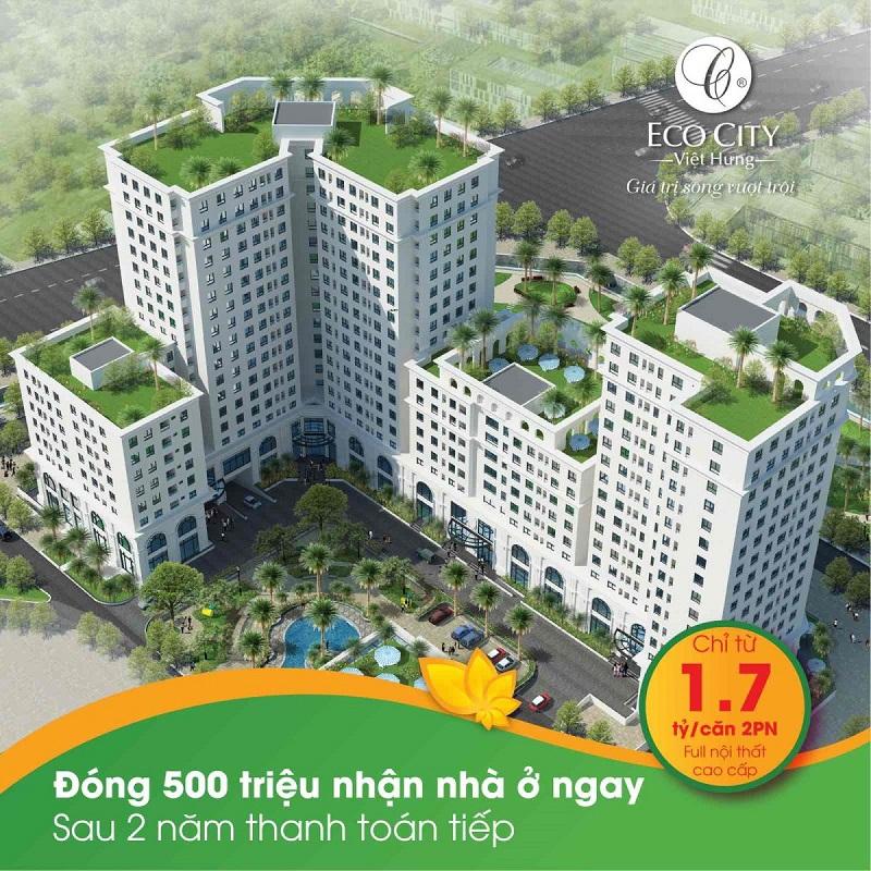 Chính sách bán hàng Eco City Việt Hưng Long Biên