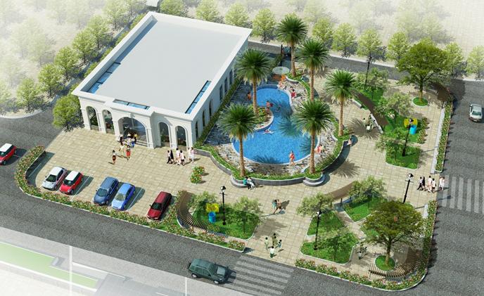 Cảnh quan dự án Eco City Việt Hưng - Long Biên