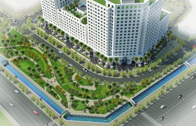 Không gian xanh dự án Eco City Việt Hưng - Long Biên