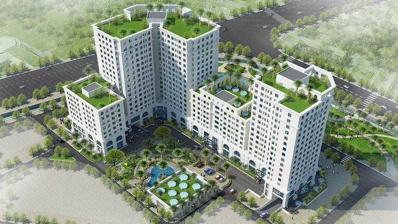 Phối cảnh dự án Eco City Việt Hưng - Long Biên